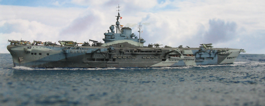 HMS Indomitable